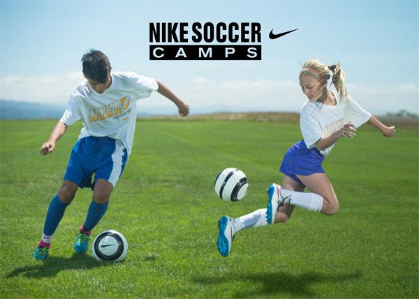At NIKE Soccer Camps Nike Soccer